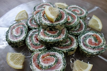 Lachs-Spinat-Rolle 21