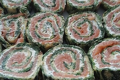 Lachs-Spinat-Rolle 73