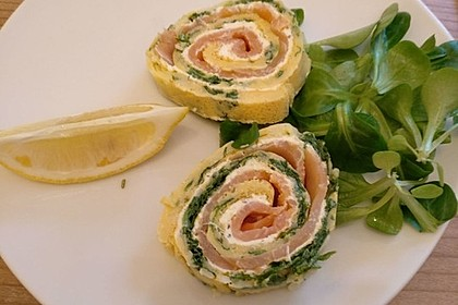 Lachs-Spinat-Rolle 57