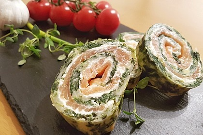 Lachs-Spinat-Rolle 14