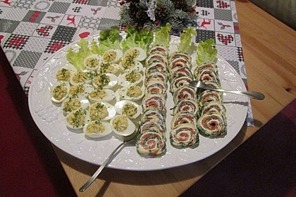 Lachs-Spinat-Rolle 60