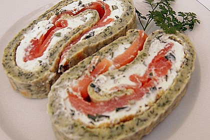 Lachs-Spinat-Rolle 110