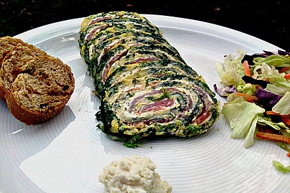 Lachs-Spinat-Rolle 82