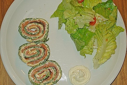 Lachs-Spinat-Rolle 116
