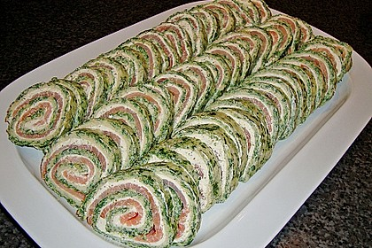Lachs-Spinat-Rolle 39