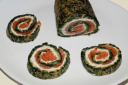 Lachs-Spinat-Rolle 23