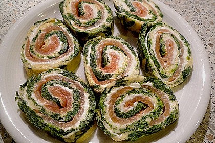 Lachs-Spinat-Rolle 19