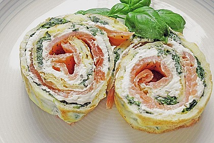 Lachs-Spinat-Rolle 20