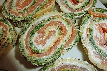 Lachs-Spinat-Rolle 52