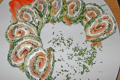 Lachs-Spinat-Rolle 112
