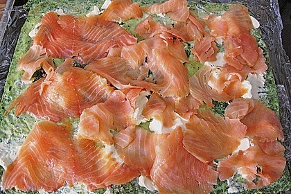 Lachs-Spinat-Rolle 149