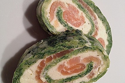 Lachs-Spinat-Rolle 22