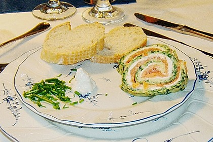 Lachs-Spinat-Rolle 139