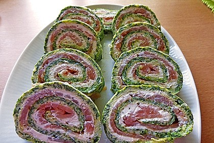 Lachs-Spinat-Rolle 15