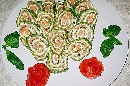Lachs-Spinat-Rolle 81