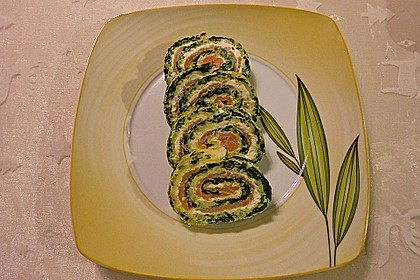 Lachs-Spinat-Rolle 26