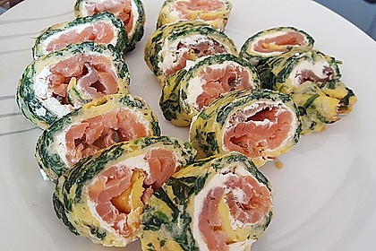Lachs-Spinat-Rolle 53