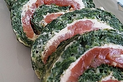 Lachs-Spinat-Rolle 43