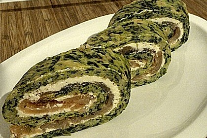 Lachs-Spinat-Rolle 68