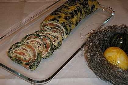 Lachs-Spinat-Rolle 44