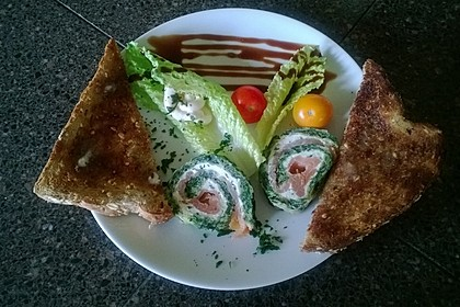 Lachs-Spinat-Rolle 84
