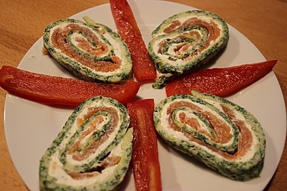 Lachs-Spinat-Rolle 74