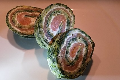 Lachs-Spinat-Rolle 31
