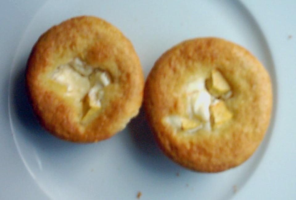 Käsekuchenmuffins mit Obst von frosch18 | Chefkoch.de