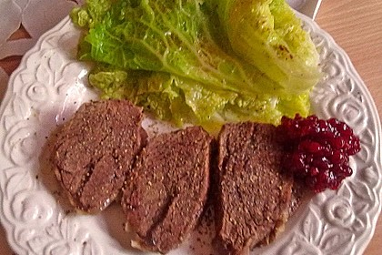 Gekochtes Rindfleisch mit Remouladensauce 2