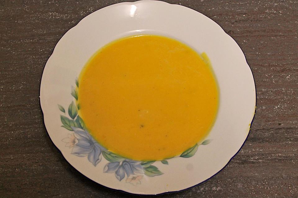 kürbissuppe einfach und schnell (rezept mit bild) | chefkoch.de - Chefkoch De Kürbissuppe