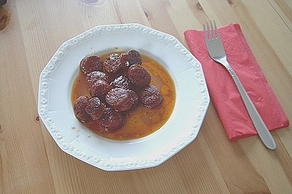 Chorizo in Rotwein 1