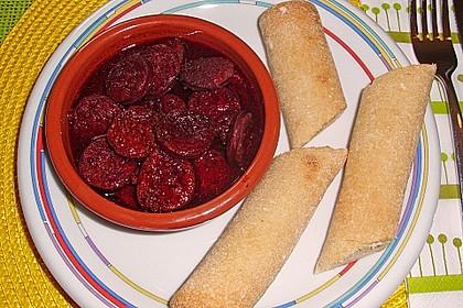 Chorizo in Rotwein 0