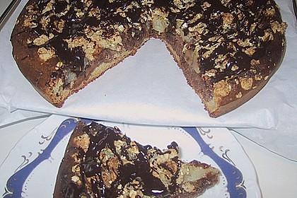 Schoko - Birnen - Kuchen 2