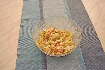 Chicoreesalat mit Krabben 1