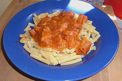 Makkaroni mit Tomatensoße nach Ossi - Art 8