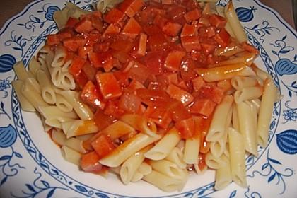 Makkaroni mit Tomatensoße nach Ossi - Art 4