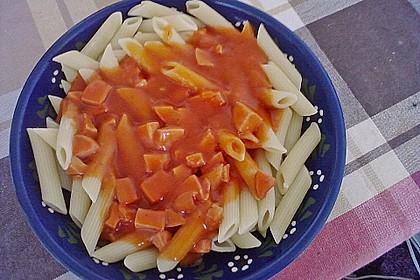Makkaroni mit Tomatensoße nach Ossi - Art 3