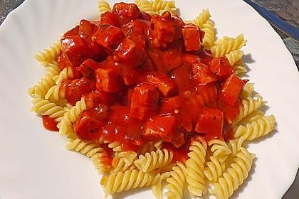 Makkaroni mit Tomatensoße nach Ossi - Art 5
