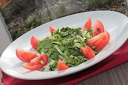 pak choi salat mit tomaten fr hlingszwiebeln und peperoni von cologne4711. Black Bedroom Furniture Sets. Home Design Ideas