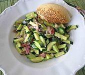 Leckeres Zucchinigemüse (Bild)