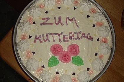 Muttertags - Himbeertorte 1