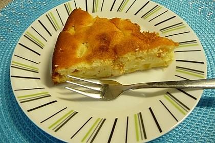 Apfel - Frischkäse - Rührkuchen 8