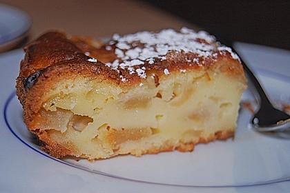 Apfel - Frischkäse - Rührkuchen 7