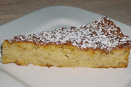 Apfel - Frischkäse - Rührkuchen 9