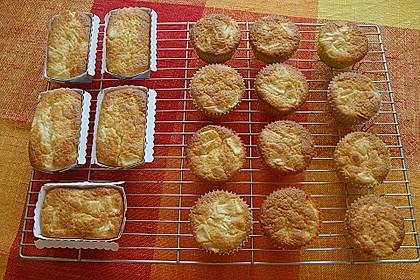 Apfel - Frischkäse - Rührkuchen 25