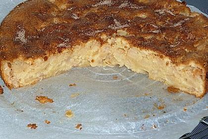 Apfel - Frischkäse - Rührkuchen 36