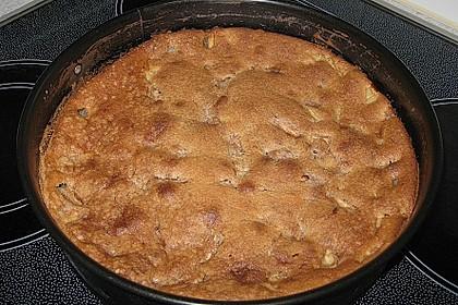 Apfel - Frischkäse - Rührkuchen 45