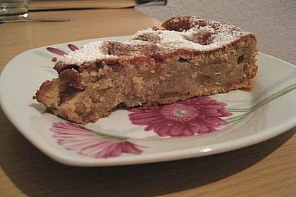 Apfel - Frischkäse - Rührkuchen 50