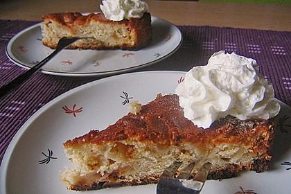 Apfel - Frischkäse - Rührkuchen 14