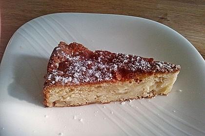 Apfel - Frischkäse - Rührkuchen 12